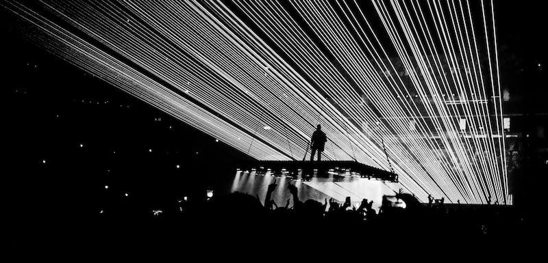 Kanye West, Saint Pablo tour, TD Garden, Boston, 2016