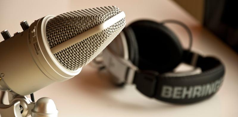 Podcast set-up, ART19 investment