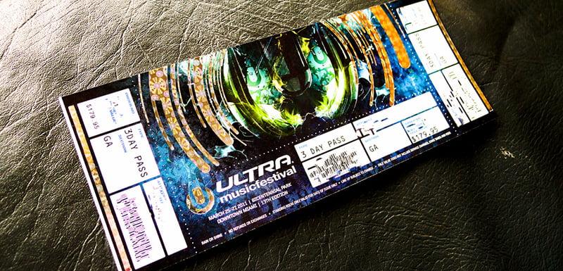 Ultra festival tickets