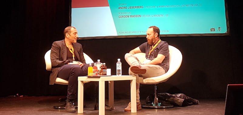 Andre Lieberberg, Live Nation GSA, Gordon Masson