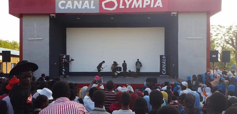 CanalOlympia venue, Niamey, Niger, Vivendi