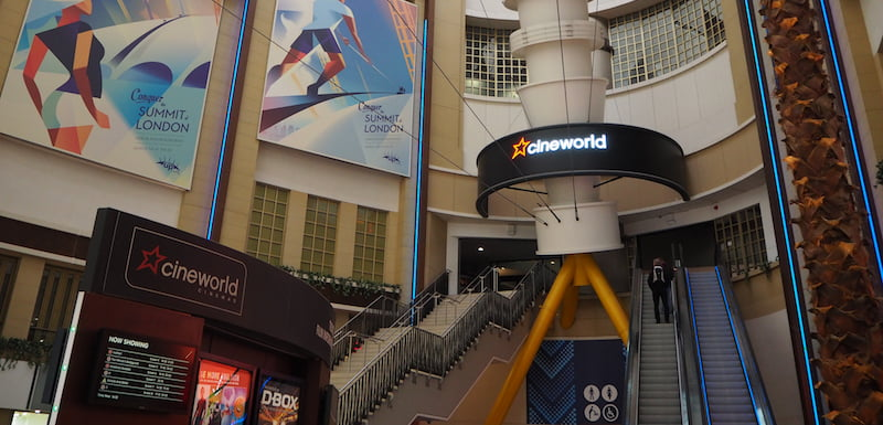 Cineworld, The O2, London