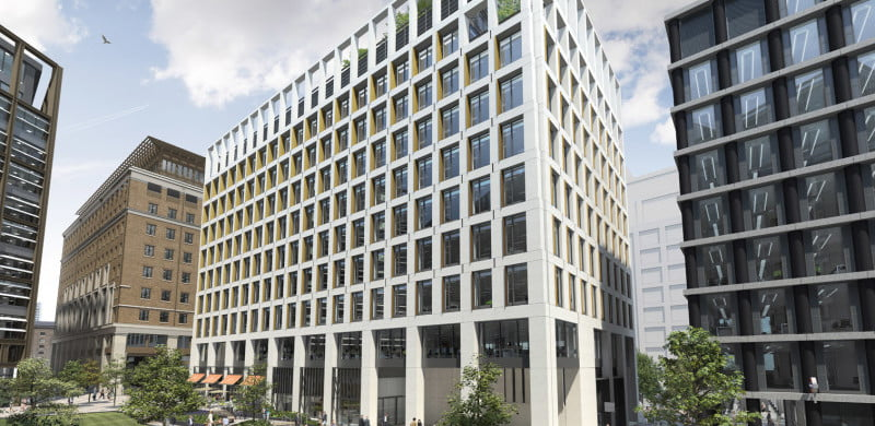 Two Pancras Square, King's Cross, PRS for Music Offices