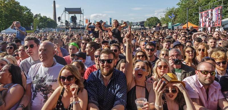 Trnsmt 2017, Glasgow Green, UK, Measuring Music 2017