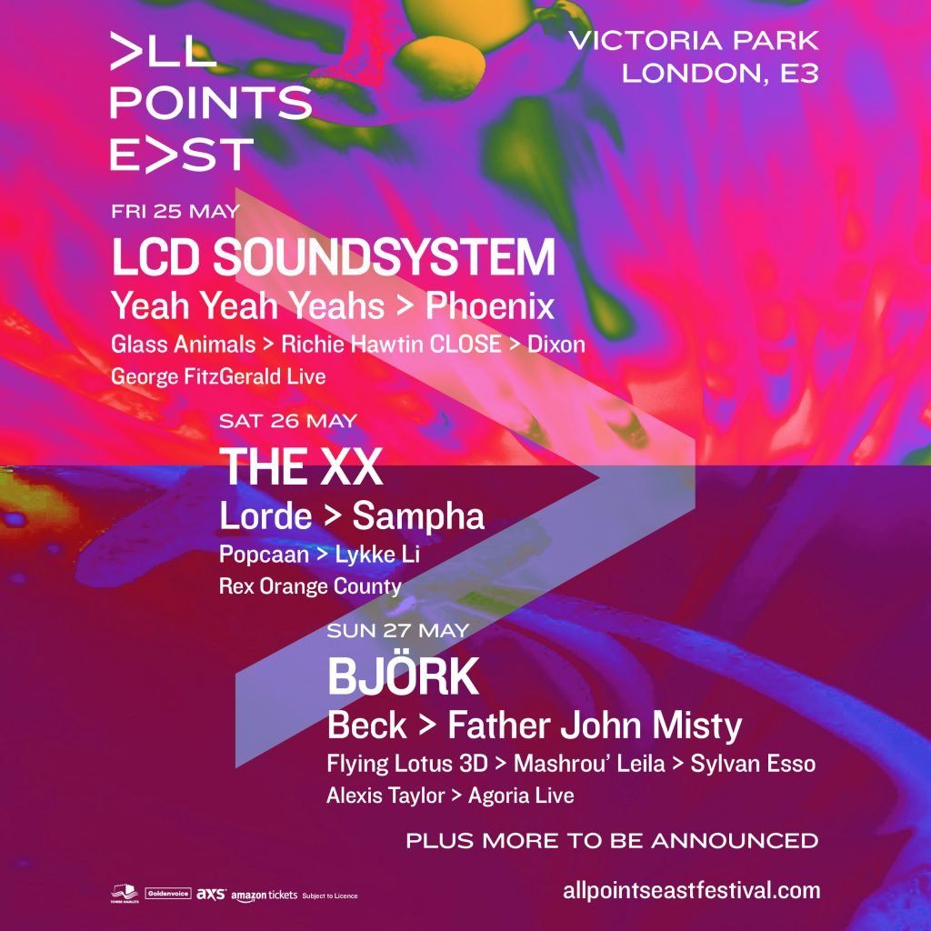All Points East 30 October line-up