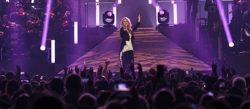 Celine Dion, Marshall Arts, Colosseum, Las Vegas