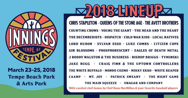 Innings Festival 2018 line-up