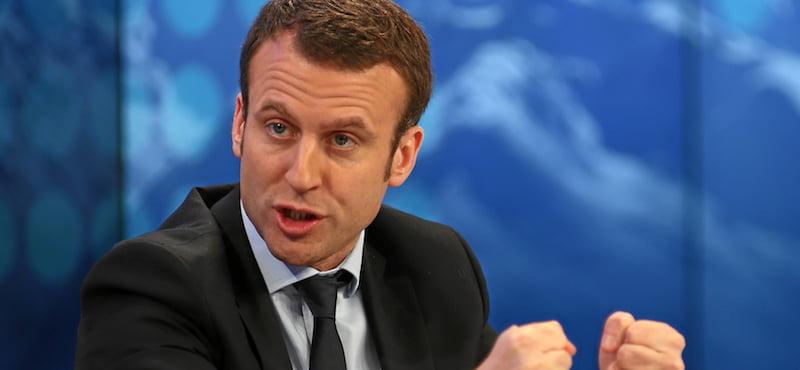 Emmanuel Macron, World Economic Forum