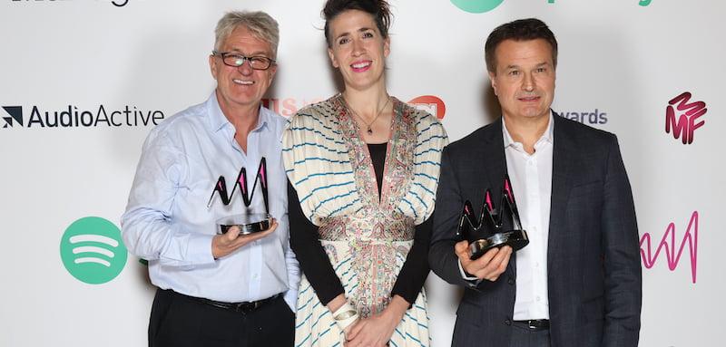 Melvin Benn, Imogen Heap, Simon Moran, One Love Manchester, Artist & Manager Awards 2017