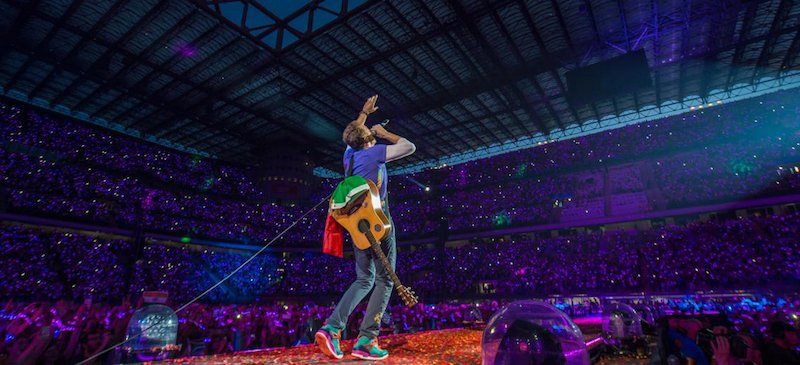 Coldplay, San Siro Stadium, Milan, 2017, Ticketmaster Italia