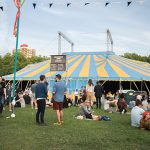 Shacklewell Arms stage at Field Day 2017