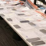 Mobile phones recovered by West Midlands police