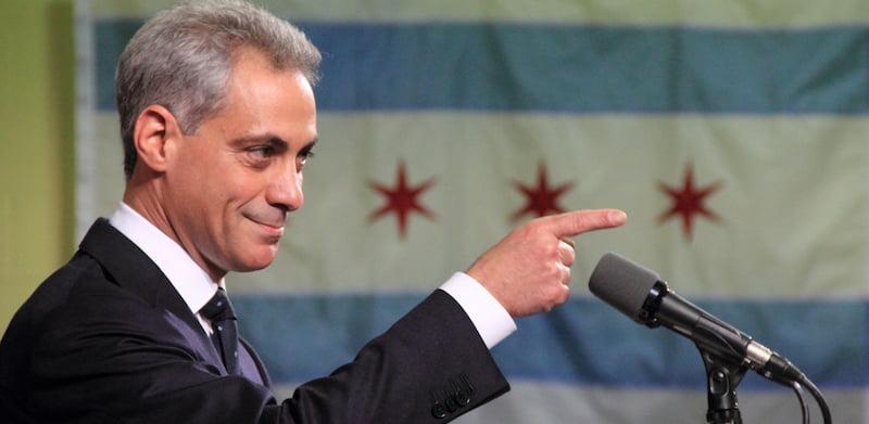 Rahm Emanuel, mayor of Chicago