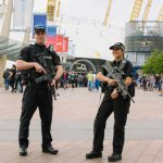 Armed police were visibly present at The O2 in London in the aftermath of the Manchester Arena attack