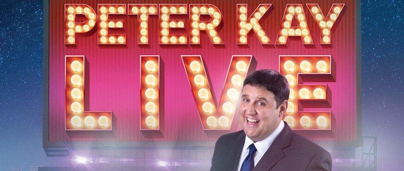 Peter Kay Live poster