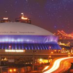 The Louisiana, now Mercedes-Benz, Superdome in New Orleans was SMG's first venue, Onex