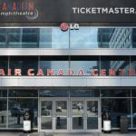 Ticketmaster Canada branding at Toronto's Air Canada Centre