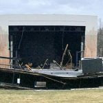 Merriweather Post Pavilion roof collapse