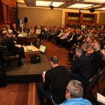 A packed room 1 for the Open Forum at ILMC 29
