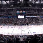 Pepsi Center in ice hockey configuration