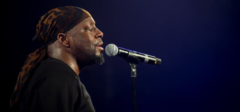 Wyclef Jean headlined the inaugural Trace Live