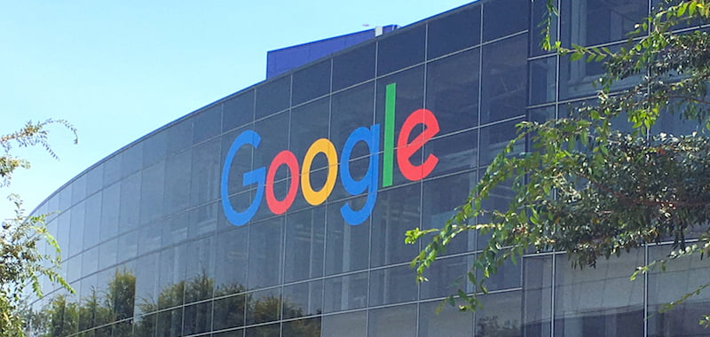 Google's Googleplex HQ in Mountain View, California