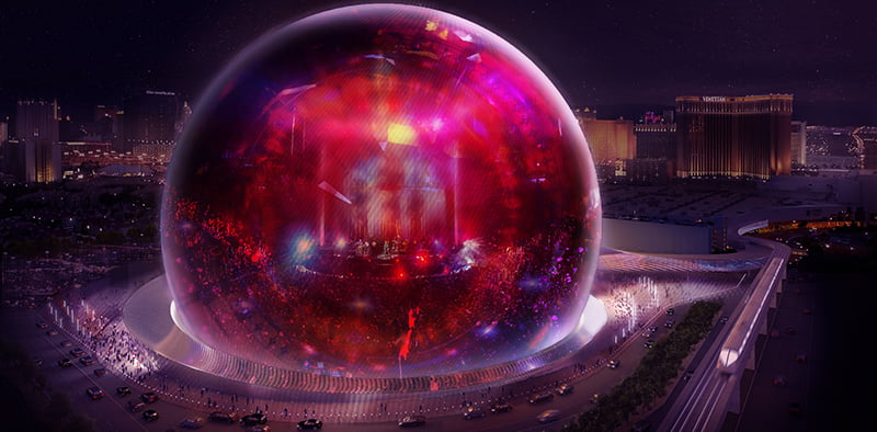 MSG Sphere, Las Vegas