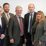 The PPL PRS Ltd board, with MD Suzanne Smith at far right