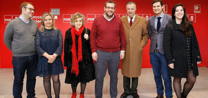 Representatives of Anatic met with the Spanish Socialist Workers' Party earlier this month