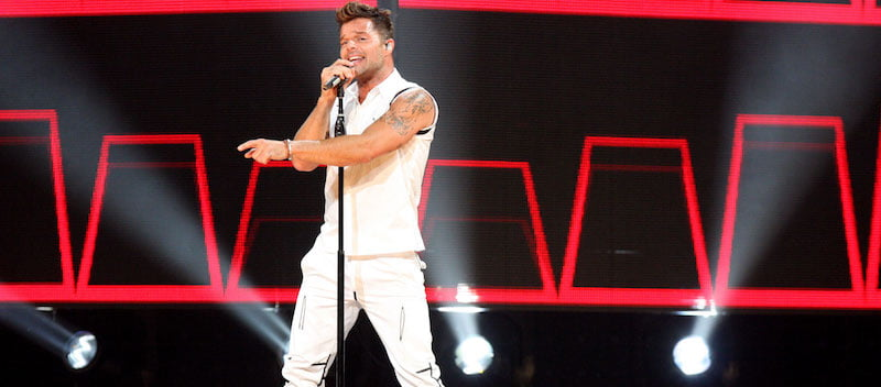 Ricky Martin's One World tour was a major success for Puerto Rican singer