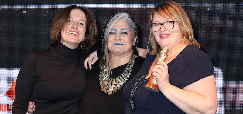 Selina Emeny, Emma Banks, Gillian Park, Arthur Awards 2018
