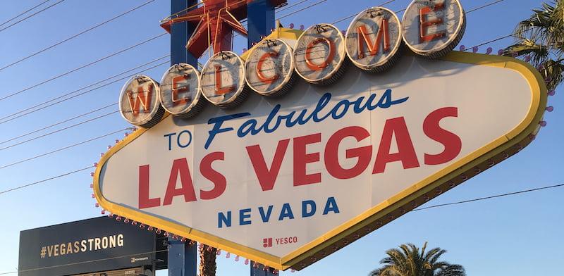 Las Vegas sign, Vegas Strong/Route 91 Harvest memorial