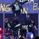 BTS 'Boy in Luv' Rap Monster, Suga, Jung Kook, Jimin, V, J-Hope, Jin CJ E&M Center, Sangam-dong, Mapo-gu, Seoul, Jeon Han/Korea.net