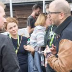Delegates network at Dingwalls at IFF 2017
