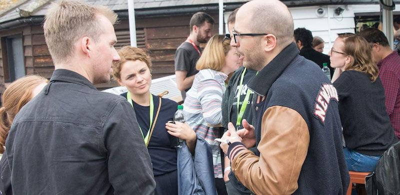 Delegates network at Dingwalls at IFF 2017