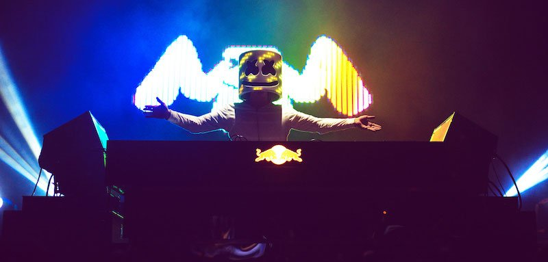 Marshmello at Mad Decent Block Party, 2016, Circle Talent Agency