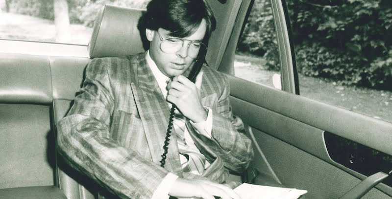 Peter Schwenkow: An early adopter of those newfangled mobile phones