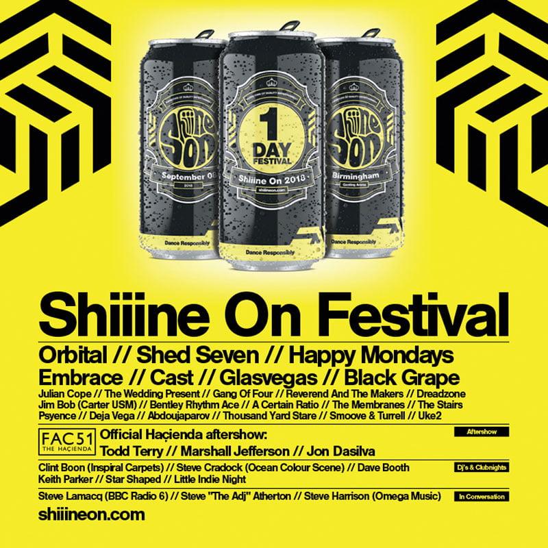 Shiiine On 2018
