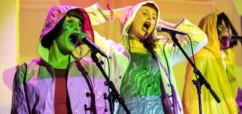 Superorganism perform at ESNS 2018 in January