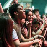 Fans at the recent Printemps de Bourges festival in Cher