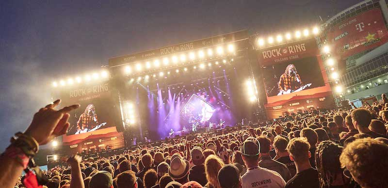Foo Fighters headlined Rock am Ring 2018 on Sunday night