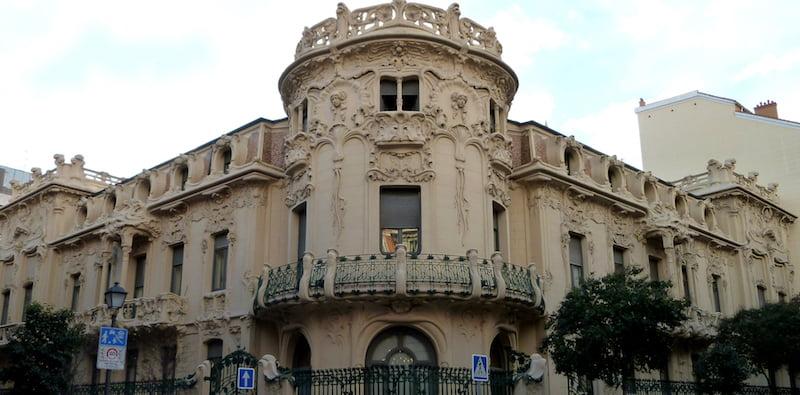 SGAE's HQ in Madrid