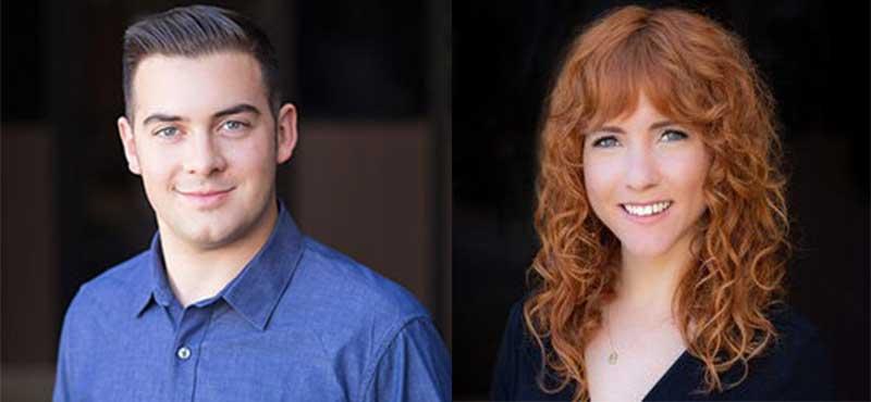 Teresa Guy and Jordan Racine