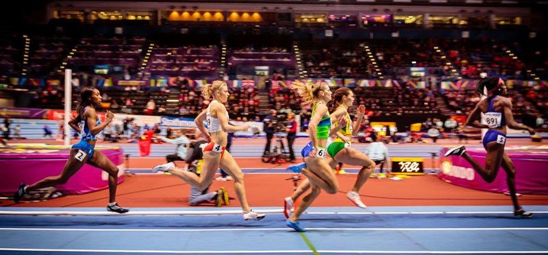 Arena Birmingham hosted the IAAF 2018 athletics championships