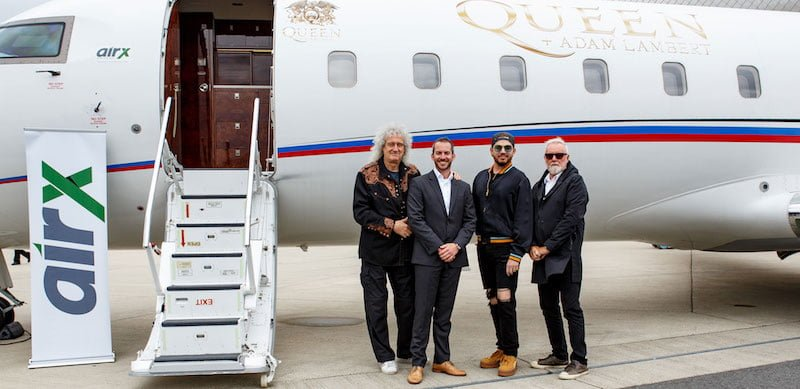 AirX, Queen + Adam Lambert