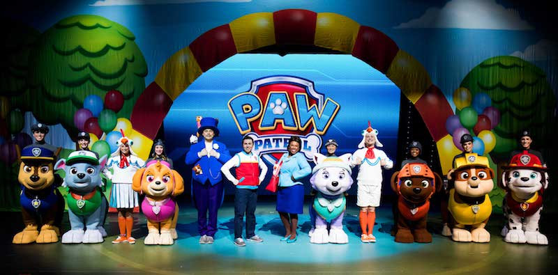VStar Entertainment, who put on the Paw Patrol show has been acquired by Cirque du Soleil Entertainment