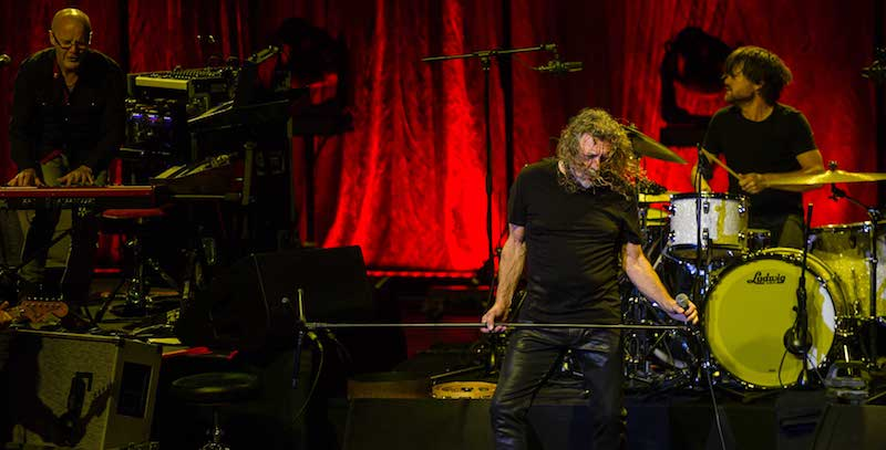 Robert Plant and the Sensational Space Shifters returned after 11 years away, to close the Istanbul Jazz Festival