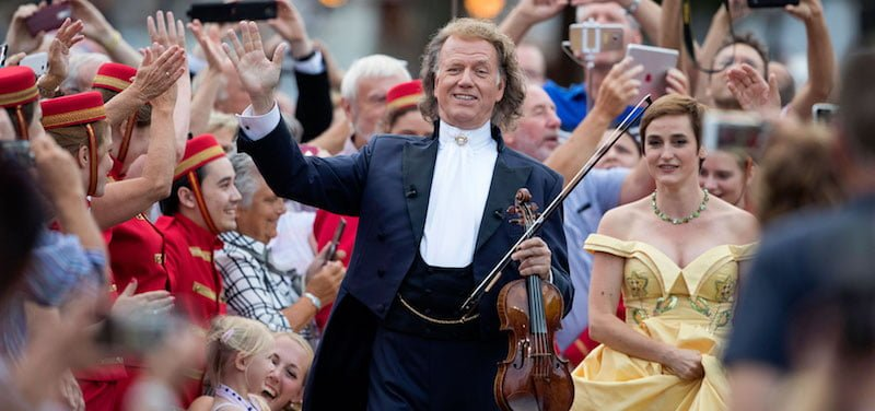 André Rieu, Maastricht 2018, Amore – My Tribute to Love