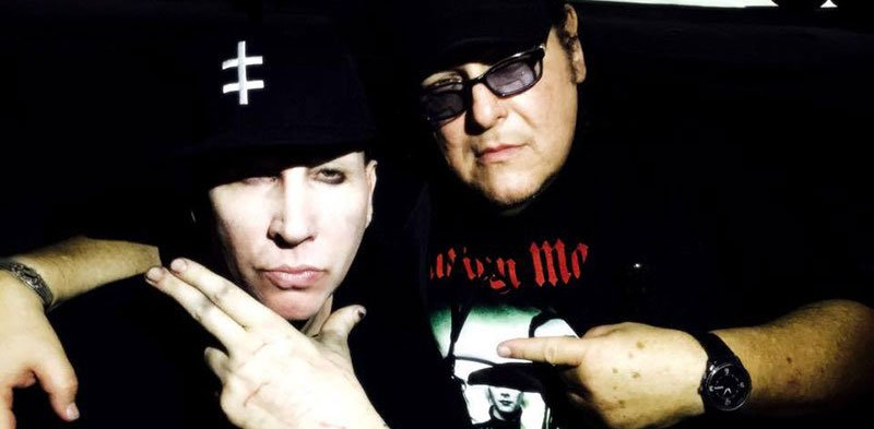 John Tovar with Marilyn Manson