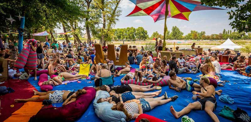 Hungary, home of Sziget Festival (pictured), saw the biggest rise in popularity in Festicket study